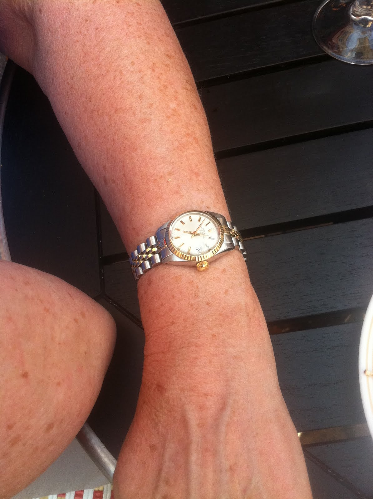 Montre Rolex Femme Or Rose Et Acier