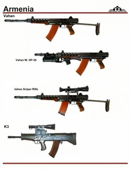 Armenian-Federation: Армянское оружие