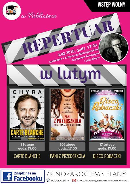REPERTUAR - LUTY 2016