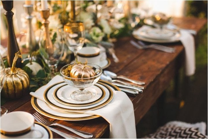 702 Hollywood: Thanksgiving Table Settings