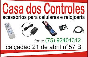 CASA DOS CONTROLES