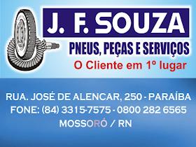 J F SOUZA PNEUS PEÇAS E SERVIÇOS