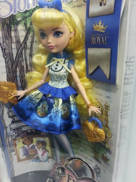 Muñeca Blondie Lockes caja