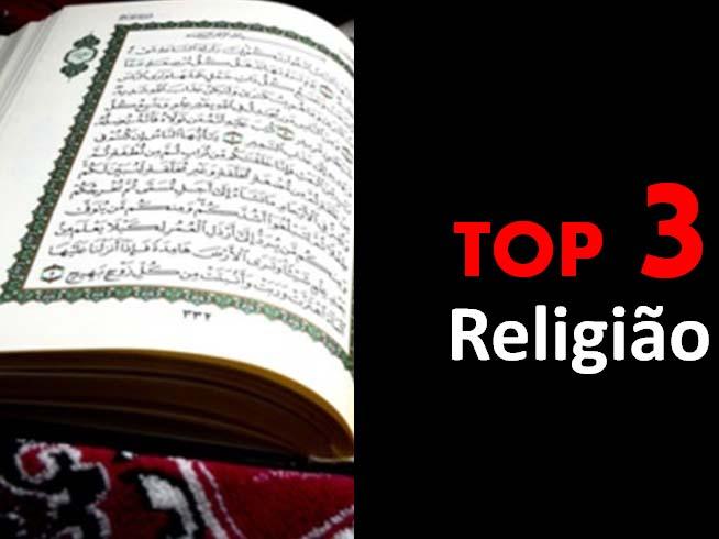 Top 3 - Religião