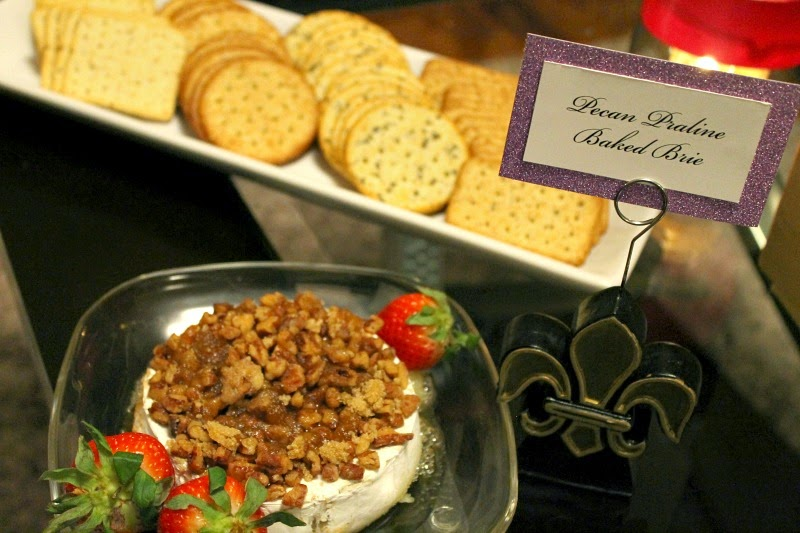 recipes, desserts, cheese, Mardi Gras, Fleur de Lis