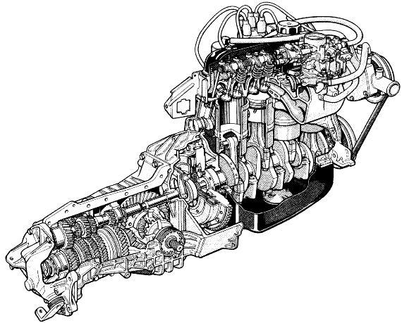 audi 2 8 v6 engine illustration