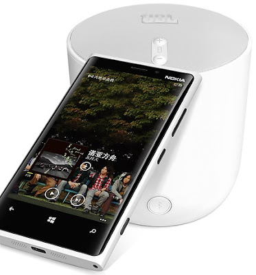 Nokia Lumia 920T - China Mobile and JBL PlayUp Portable Wireless Speaker for Nokia (MD-51W)