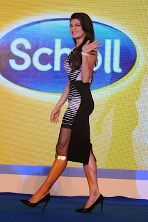 Actress Jacqueline Fernandez  Pictures in Short Dress at The Launch Of Scholl Velvet Smooth Express Pedi Electronic Foot File In Four Seasons  30