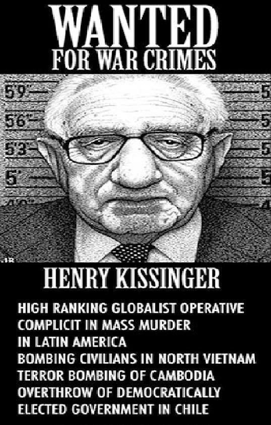 Birds of a Feather: John McCain Defends Henry Kissinger