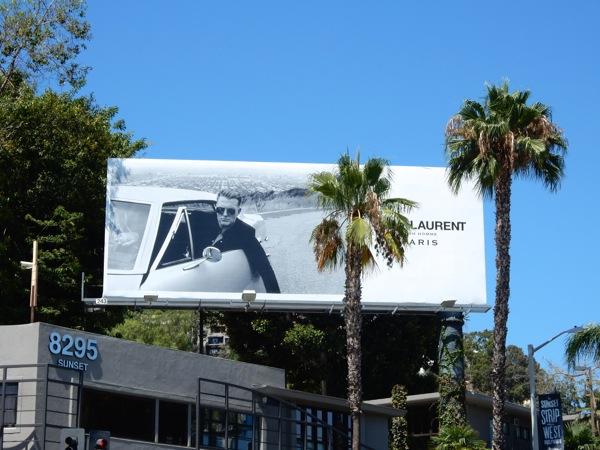 Saint Laurent Josh Homme Summer 2015 billboard