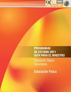 PLAN DE ESTUDIOS EDUCACIÓN FÍSICA