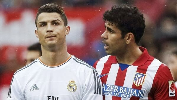 Cristiano y Diego Costa