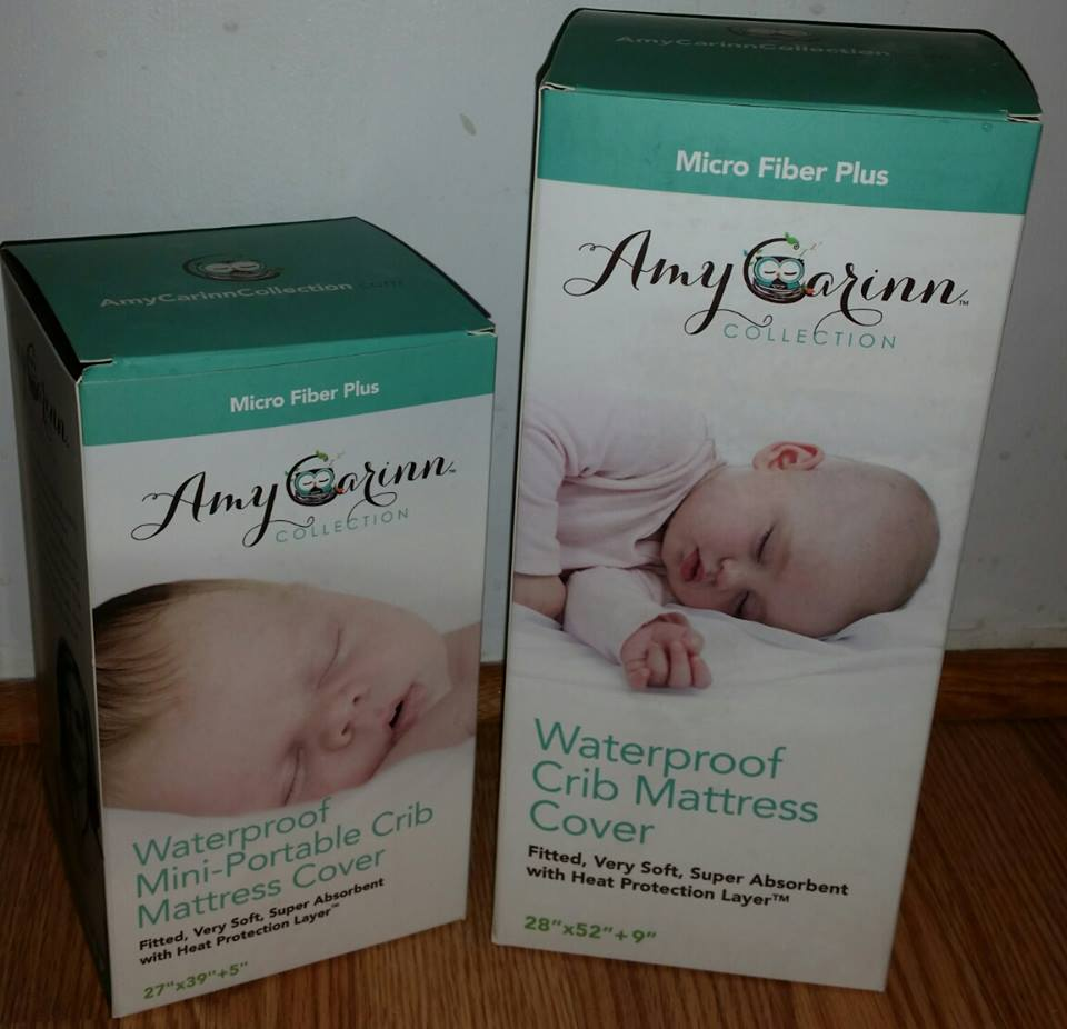 Baby cribs keep your baby close - The Mattress Covers From The Amy Carinn Collection Impressed Me The Moment I Opened The Box The Covers Are Incredibly Soft And Padded Without Being Too