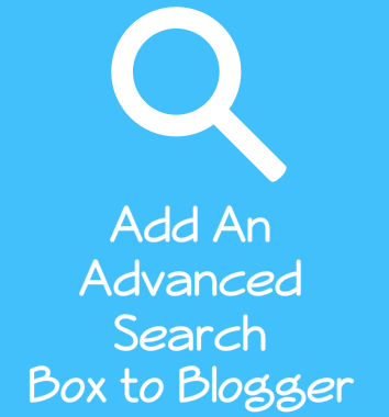 Add 2 Advanced Search Boxes to Blogger
