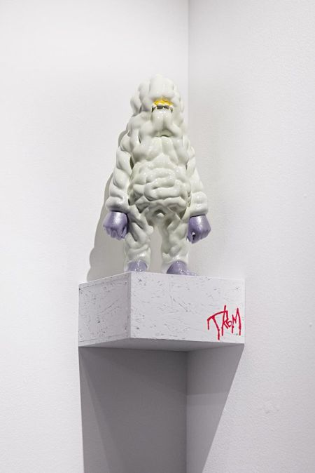 Takahiro Komuro esculturas macabras bizarras coloridas fofas monstros Atomic Bowels (Entranhas Atômicas)