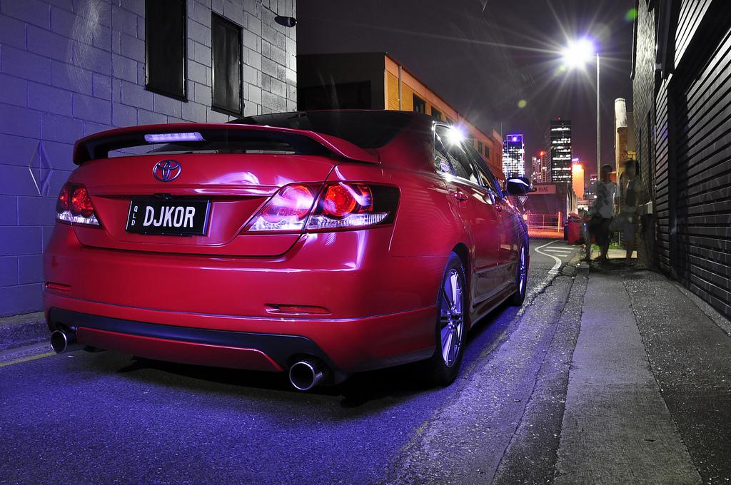 Toyota Aurion, ciekawe sedany, samochody z Australii