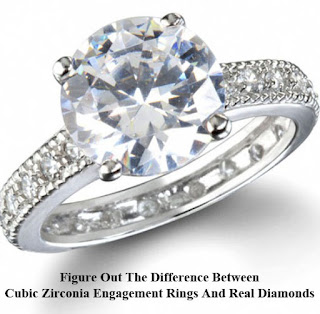 Figure Out The Difference Between Cubic Zirconia Engagement Rings And Real Diamonds