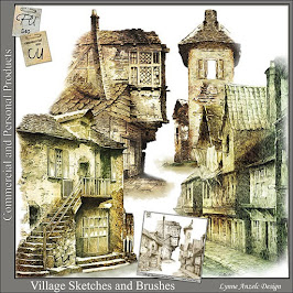 Village Sketches and Brushes
