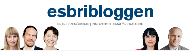 esbribloggen - om entreprenörskap, innovation och småföretagande