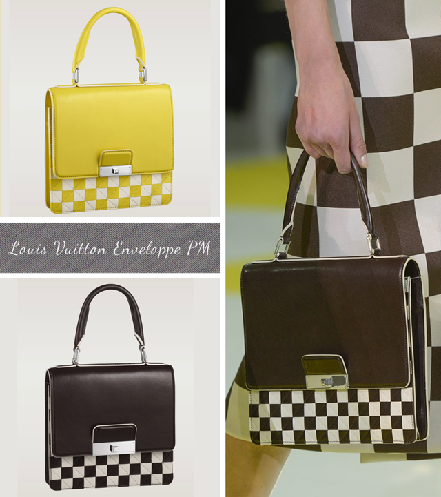 Louis Vuitton Damier Mosaic Enveloppe PM Checkerboard bag