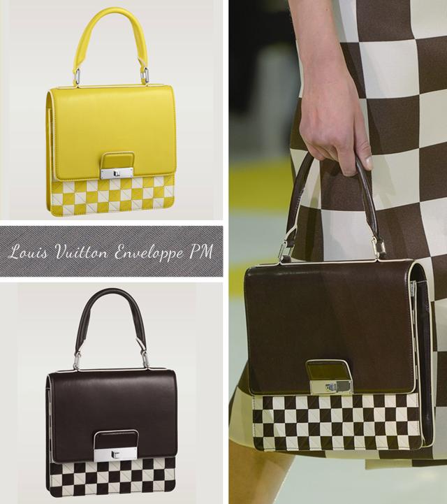 Louis Vuitton Damier Mosaic Enveloppe PM Checkerboard bag