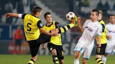 Xem lại đầy đủ trận Marseille vs Dortmund