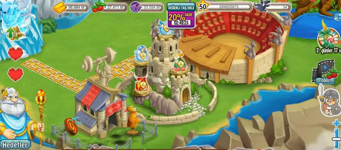 Dragon City Tüm Adaları Açma Hilesi 2014