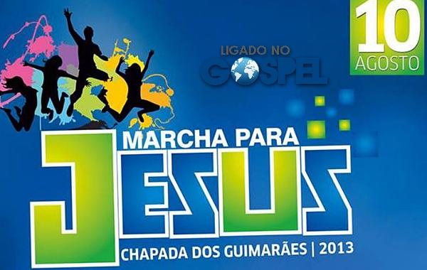 18ª Marcha Para Jesus Chapada dos Guimarães apoio Ligado no Gospel