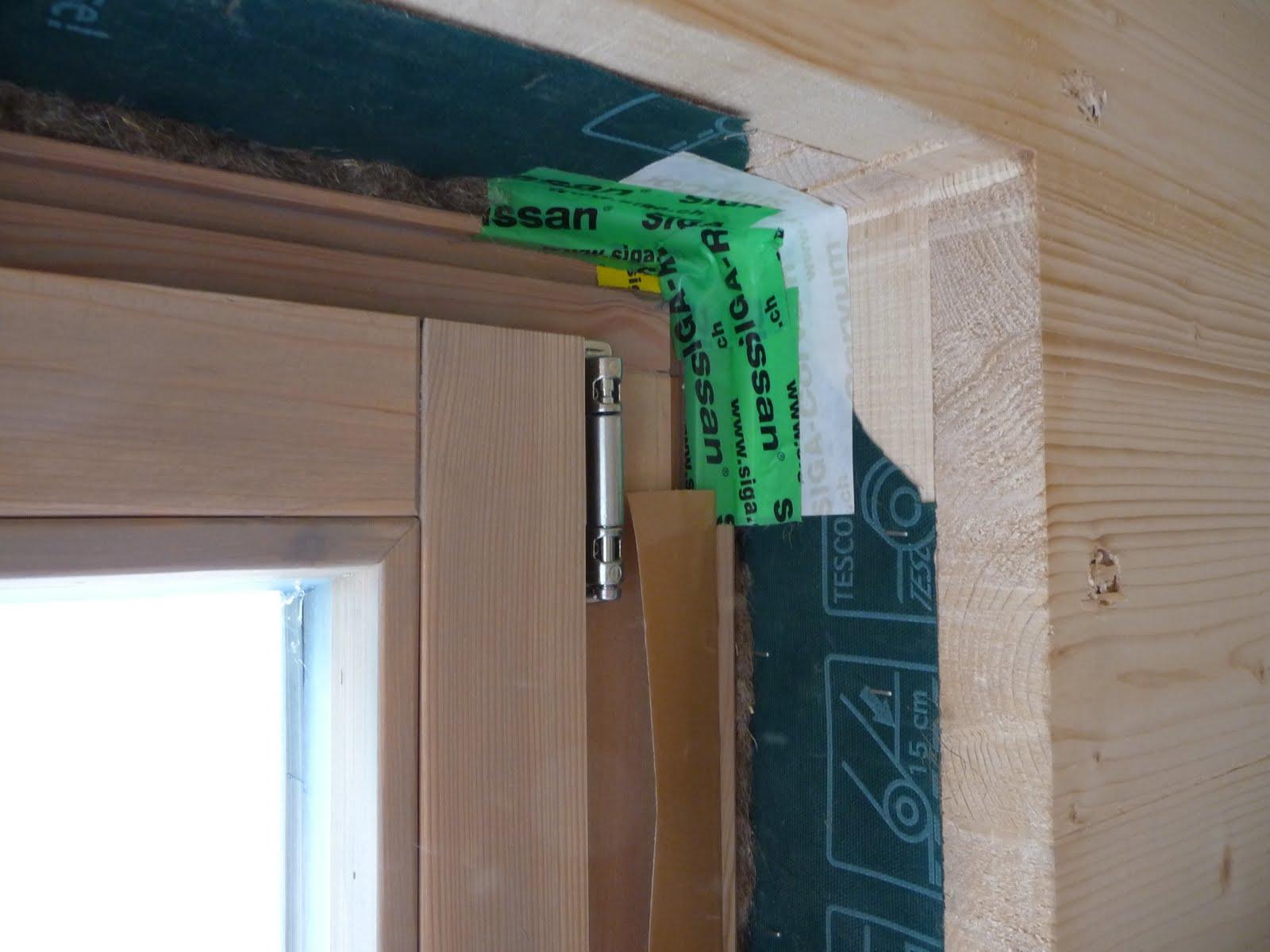 Hausbau mit murr holzhaus neuburg fenster d mmen - Fenster abkleben verputzen ...