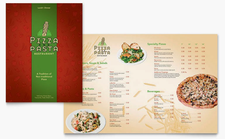 Free Stock Photos Free Restaurant Menu Templates Microsoft Word