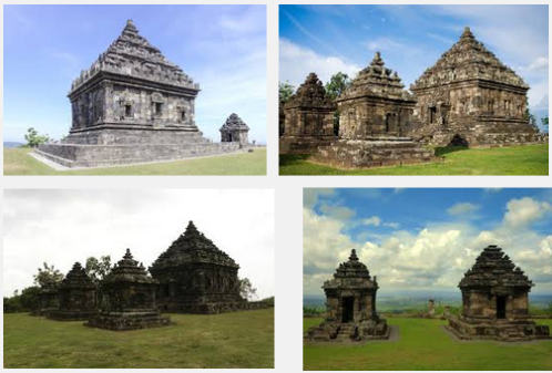 Ilustration Of Virtual Tour Of The Ijo Temple