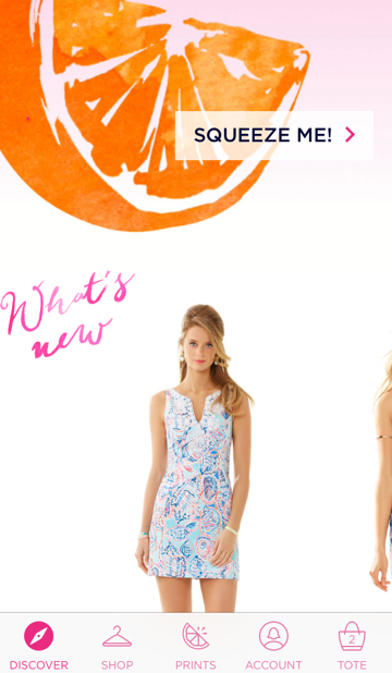 lilly pulitzer iphone app