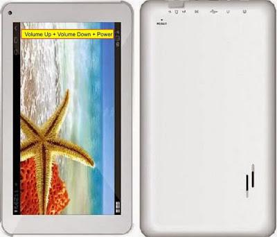 Cara Reset Tablet Advan Vandroid T2E Lupa pola kunci