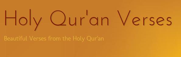 Holy Qur'an Verses