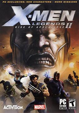 Download X-Men Legends 2: Rise Of Apocalypse Full RIP