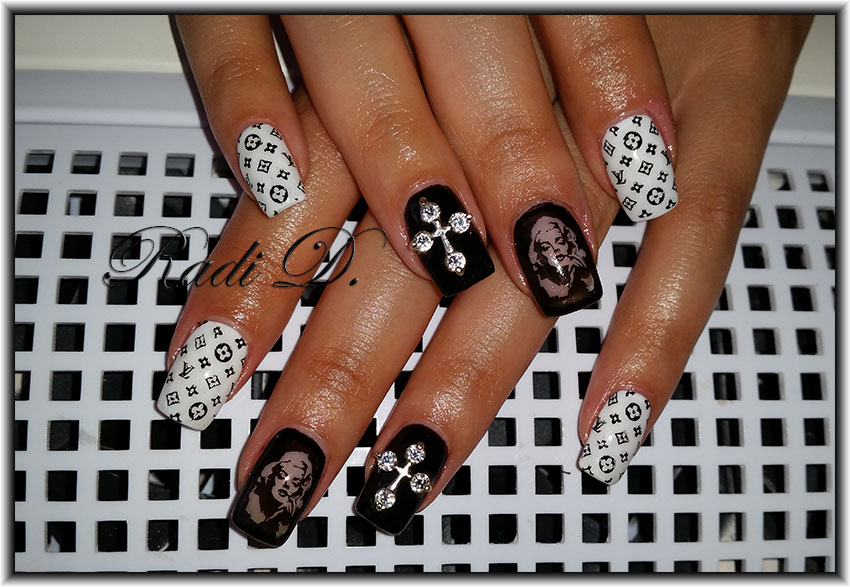 It`s all about nails: Chrest nail jewel- two designs