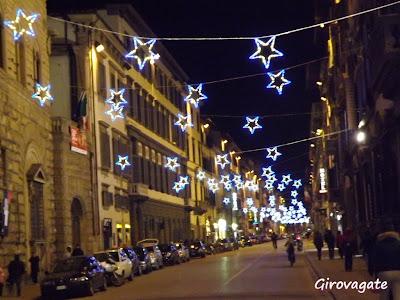 Firenze Natale illumazioni