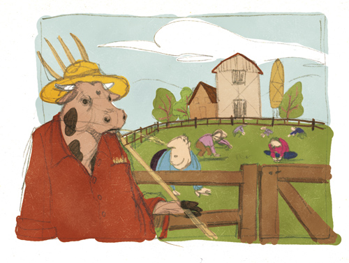 Illustration Friday - Farm