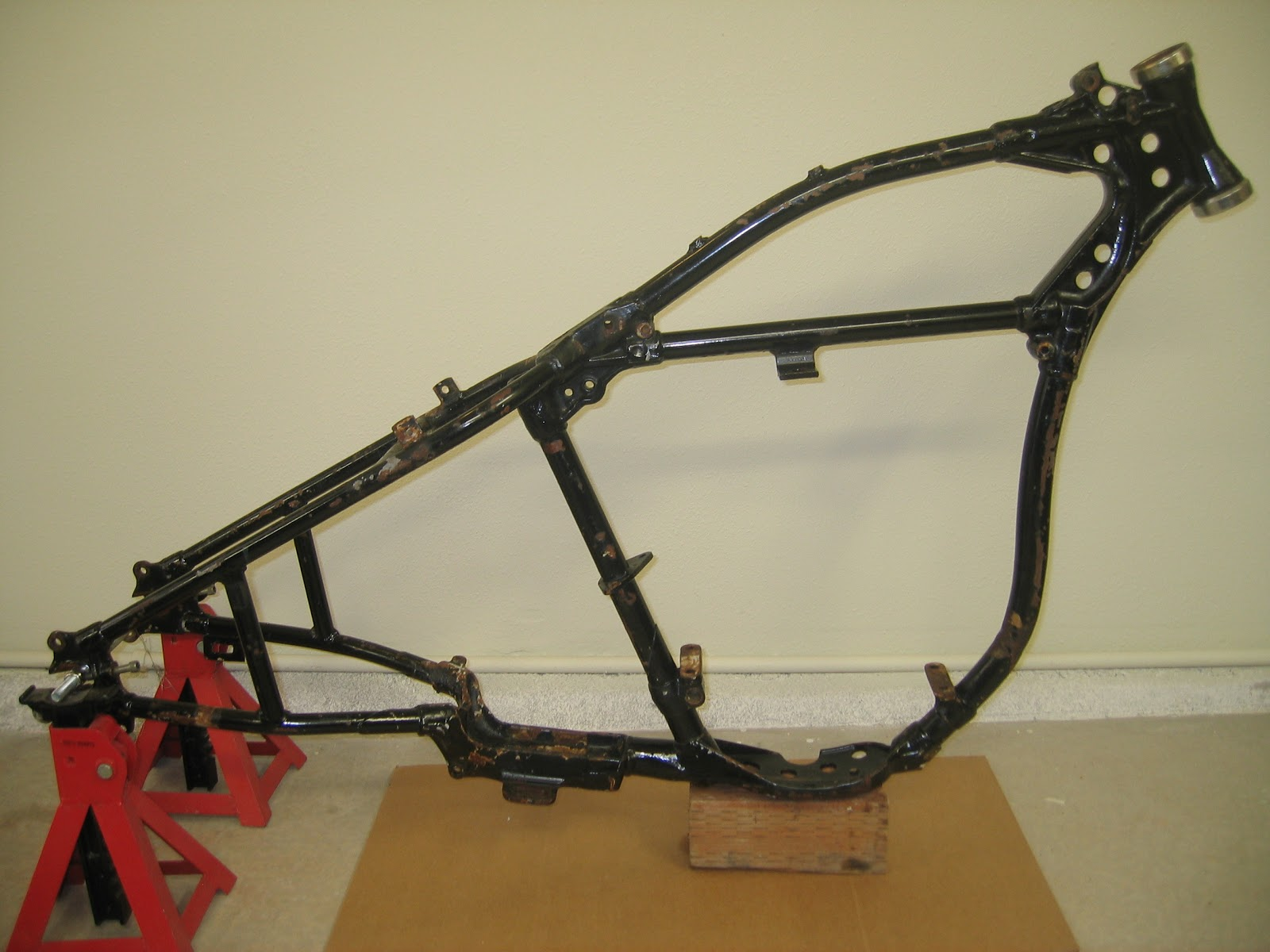 musings of a motorcycle aficionado harley davidson wr frame or not