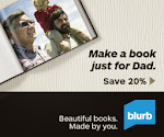 20% off Blurb Promo:: JUSTFORDAD