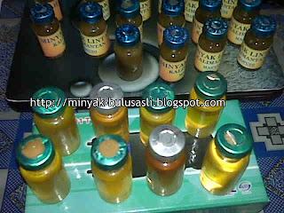 minyak bulus asli kalimantan