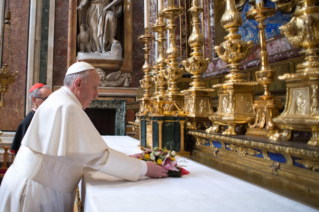 Modlitwa papieża Franciszka