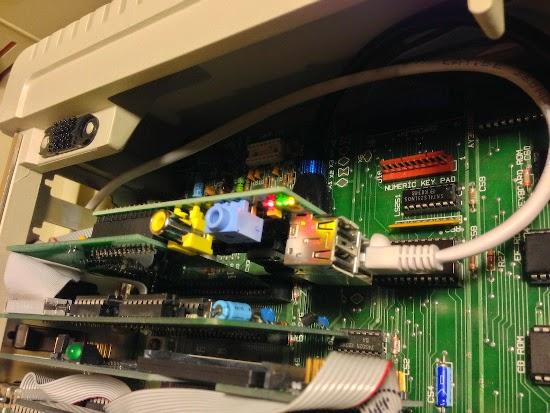 Raspberry Pi integrado ao Apple II