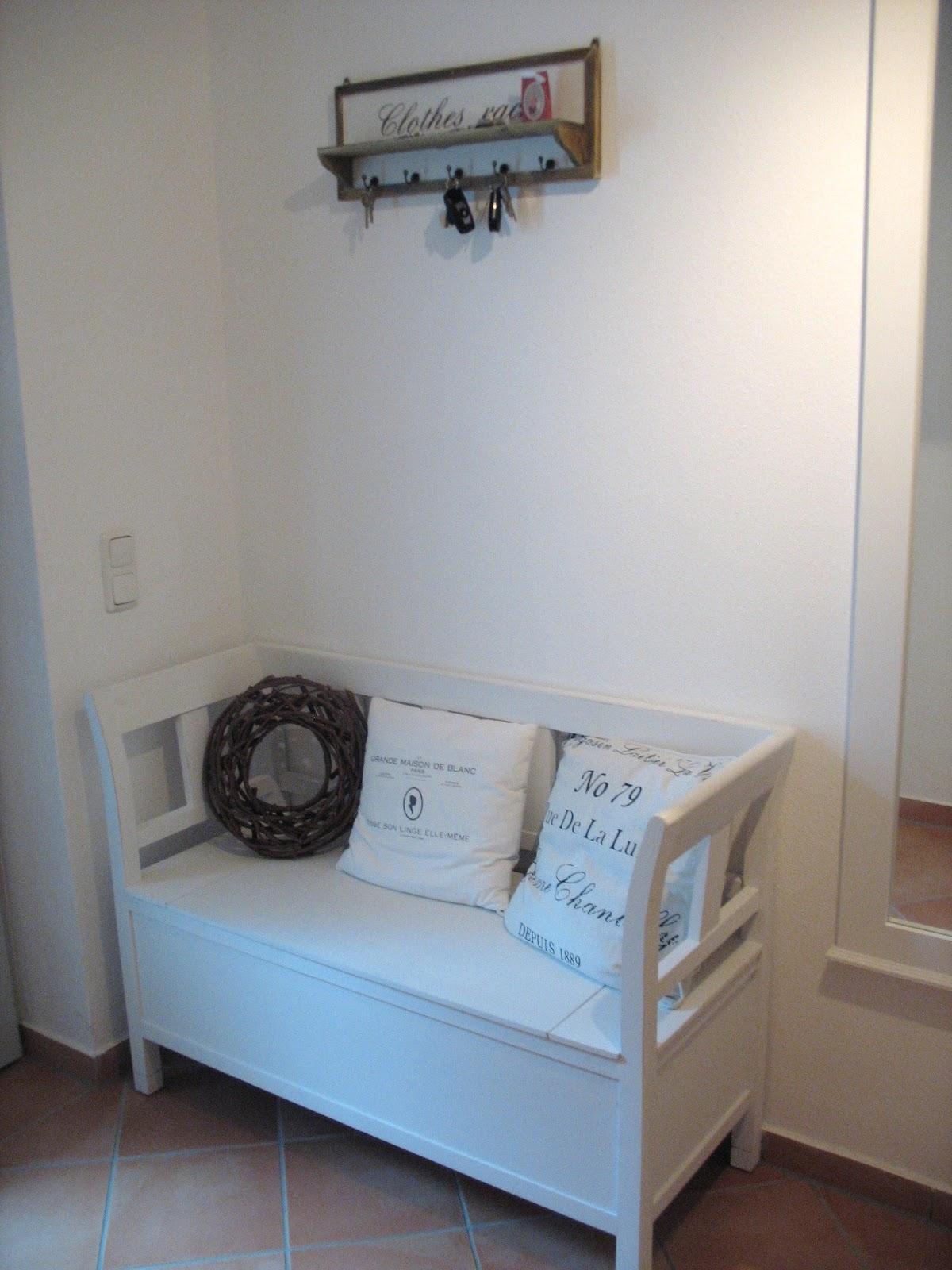 kleine bank flur amazing wohnling sitzbank salim denim massivholz bank xx cm im retro stil er. Black Bedroom Furniture Sets. Home Design Ideas