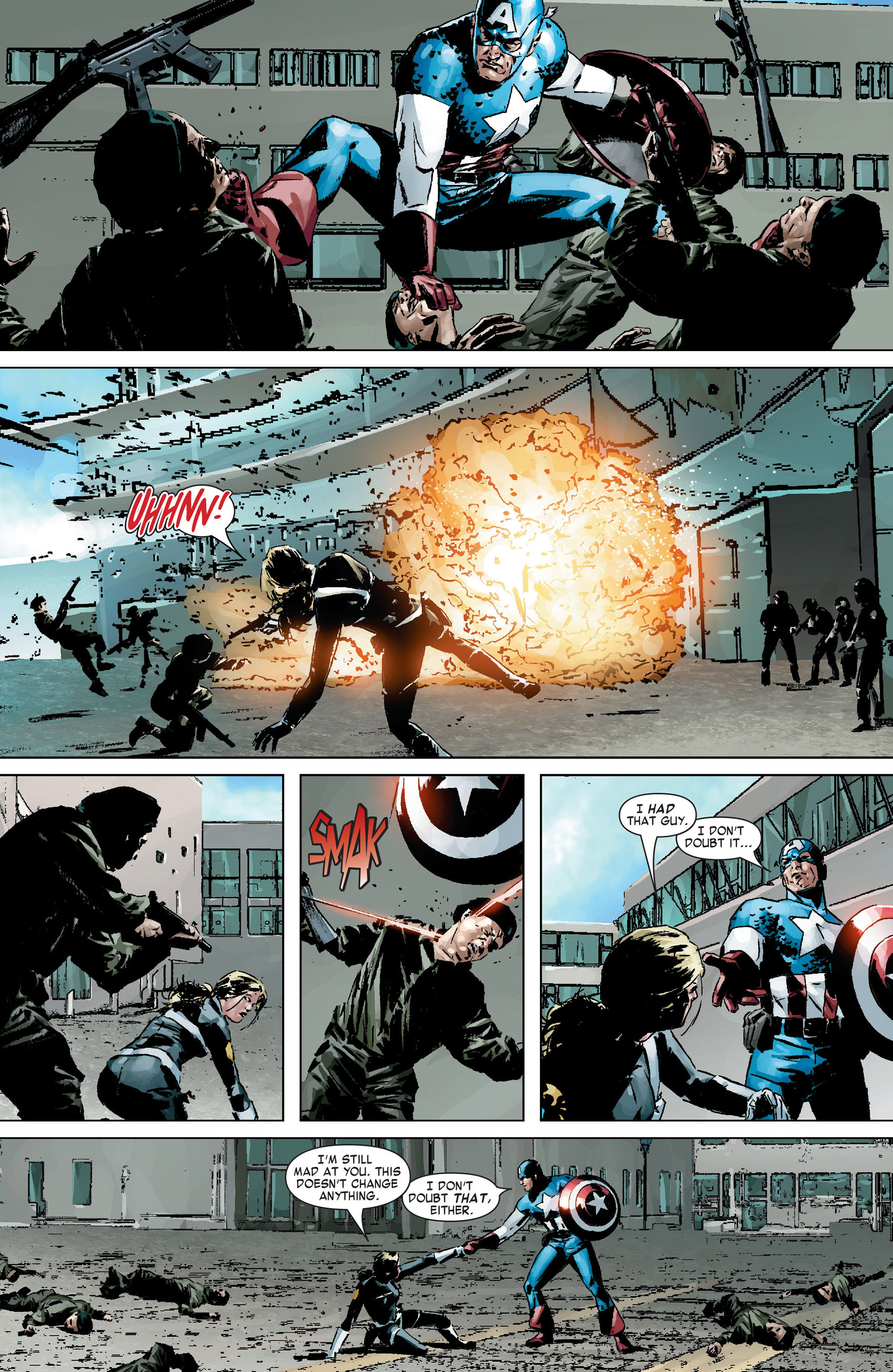 Captain America (2005) Issue #9 #9 - English 14