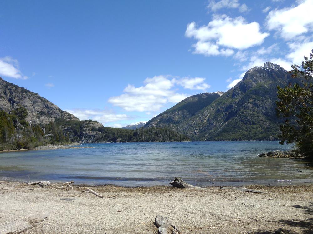 Playa de los Troncos, Bariloche