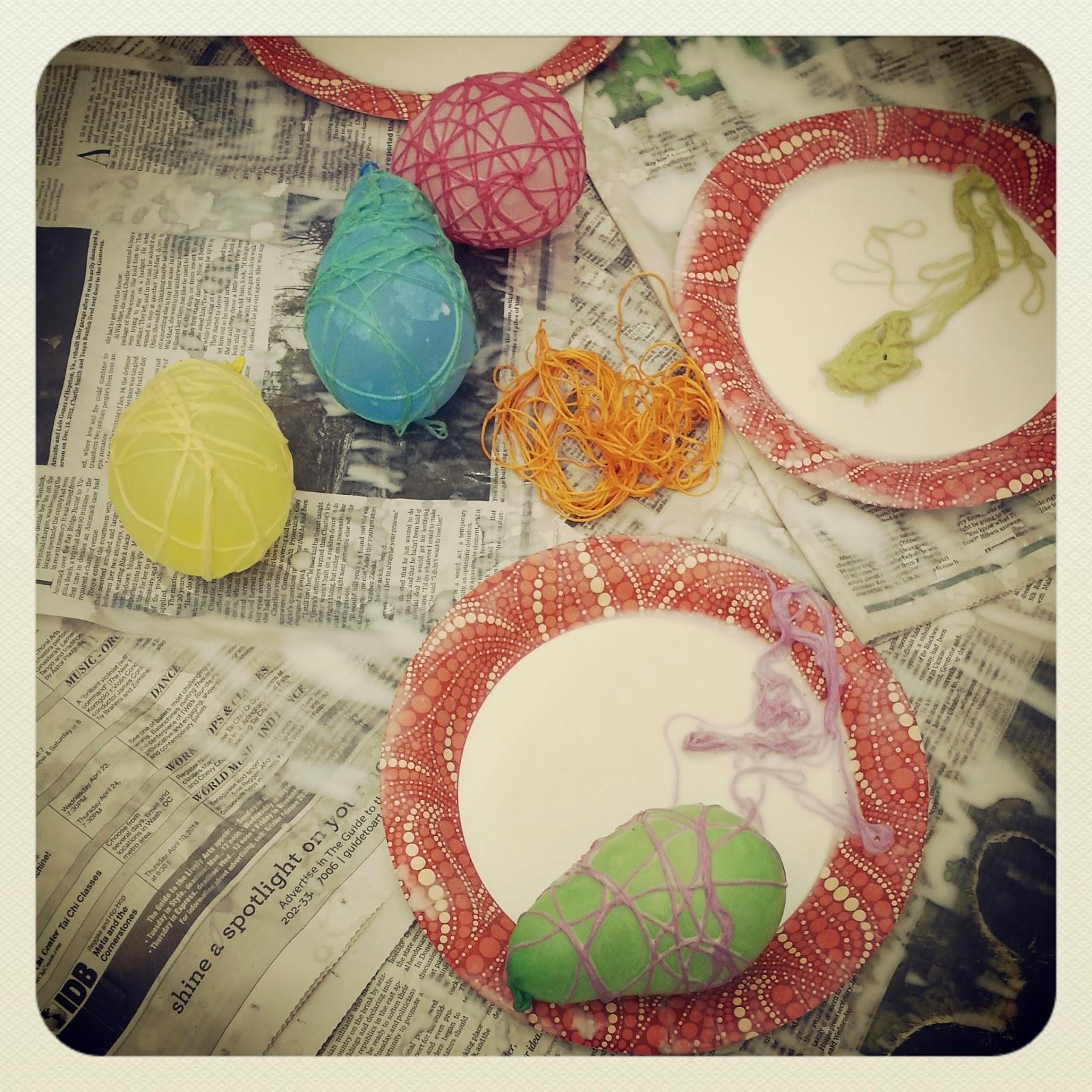 Manualidades au pair: Easter eggs