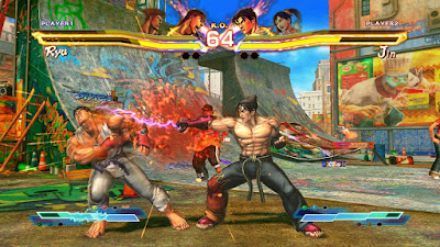 Tekken X Street Fighter Game Download With Survey