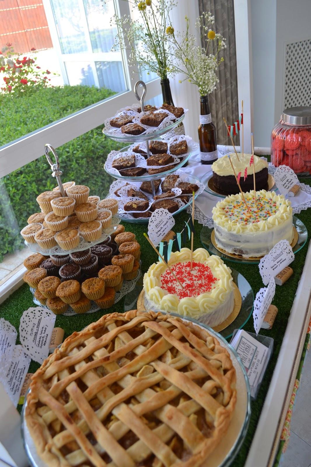 La leche militina mesas dulces y catering for Decoracion mesas dulces