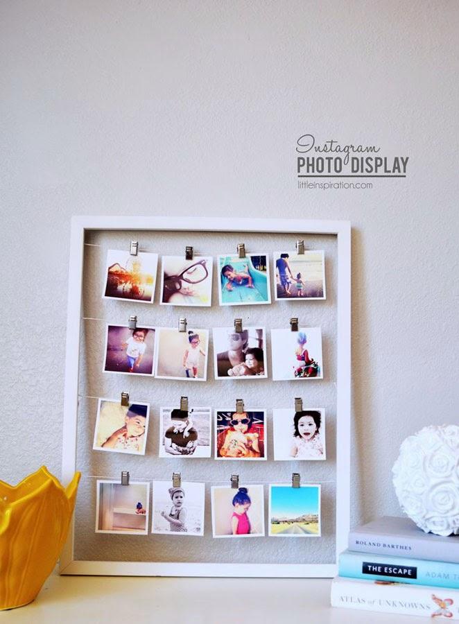 La bonne id e 7 le cadre instagram simplette - Punaise pour accrocher ...